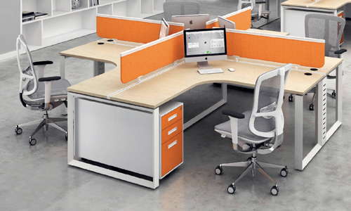 desking system partition - perabot kantor (office furniture)